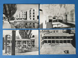 Set of 4 Vintage 1967 Real Photo Postcards, University of York DP0