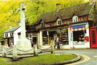 Vintage 1983 Hampshire Postcard, The Village Post Office, Burley, New Forest HK8