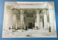 Pro Satin A3 Art Print, Grand Portico, Temple of Philae Nubia by David Roberts