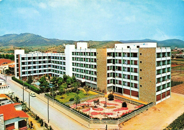 Vintage Spain Postcard, Hotel Montemar, Pineda de Mar IN0