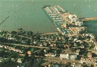 New Dorset Postcard, Poole Harbour, Yacht Club and Lilliput, Aerial View