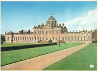 Vintage Yorkshire Postcard, Castle Howard from the South East, York JL4
