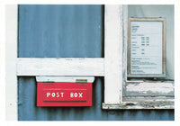 Vintage 1984 Scotland Postcard, Post Box in Wester Ross by Colin Baxter KC0