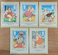 Set of 5 PHQ Stamp Postcards Set No.160 Centenary of Picture Postcards 1994 KG8