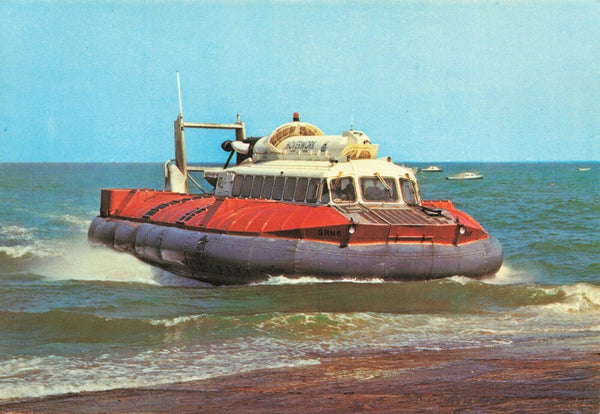 Large Format 217x150mm Postcard, SRN6 Hovercraft OS209