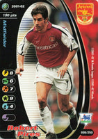 Wizards Card 2001-02 FA Premier League No.9 ROBERT PIRES Arsenal KR4
