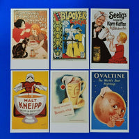 Set of 6 Postcards, Classic Poster Series, Beverages by Dalkeith Publishing LG6