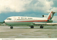 Aircraft Postcard, Boeing 727-200 Dan Air Services Ltd London LN4