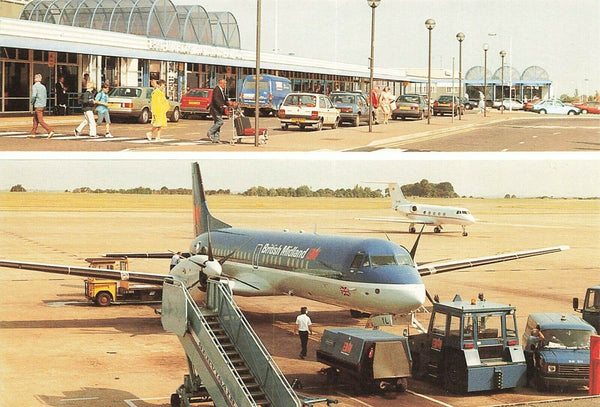 Multi View Postcard, East Midlands International Airport LO5