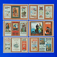 Set of 6 Postcards Dalkeith Special Series Railway Guides for Overseas Visitor