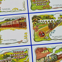 Set No.7 of 6 Postcards Lynton & Barnstaple Railway by Dalkeith Publishing