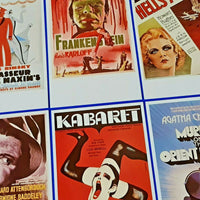 Set of 6 Postcards Classic Poster Series More Cinema Set 39 by Dalkeith LS6