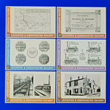 Set of 6 Postcards Dalkeith Postcards, Leicester & Swannington Railway