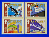 PHQ Stamp Postcards Set FDI No.110 Transport and Communications 1988 LZ6