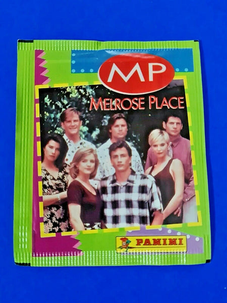Vintage 1992 Melrose Place MP Panini Sealed Album Sticker Pack (5 stickers)