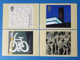 Set of 4 PHQ Stamp Postcards Set No.219 Art and Craft 2000 EE8