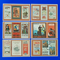 Set of 6 Postcards Dalkeith Special Series Railway Guides 4 Overseas Visitor MF9