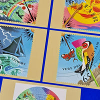 Set of 5 PHQ Stamp Postcards Set No.229 The Weather 2001 MH1