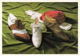 Fashion Postcard, 1920's Day Shoes, Welted Oxford, Bar Shoe MH5