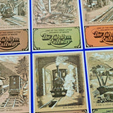 VERY RARE Set of 6 Postcards 415-420 The Talyllyn Railway by Dalkeith Publishing