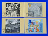 Set of 4 PHQ Stamp Postcards FDI Front No.212 The Soldiers' Tale Tale 1999 MK9