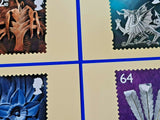 Set of 4 PHQ Stamp Postcards D13 Welsh Definitives 1999 ML1