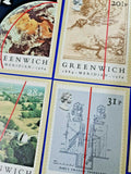 8 x PHQ Stamp Postcard selection, great for Postcrossing, Greenwich, Awards ML5