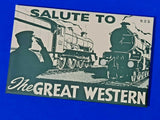 VERY RARE Set of 6 Dalkeith Postcards Salute to The Great Western Railway GWR