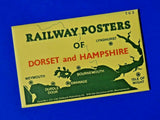 VERY RARE Set of 6 Dalkeith Postcards SR Posters of Dorset & Hampshire