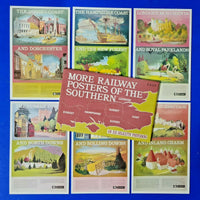 Set of 6 Dalkeith Postcard, More Railway Posters of The Southern Railway