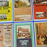 Set of 6 Dalkeith Postcard, Railway Hotel Services LNER, LMS, GWR, SR