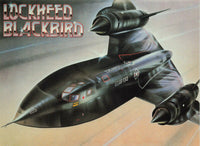 Aircraft Postcard, Lockheed Blackbird by Athena International MO8