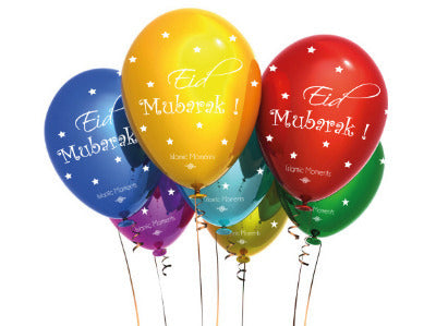 Eid and Party Balloons Islamic Moments