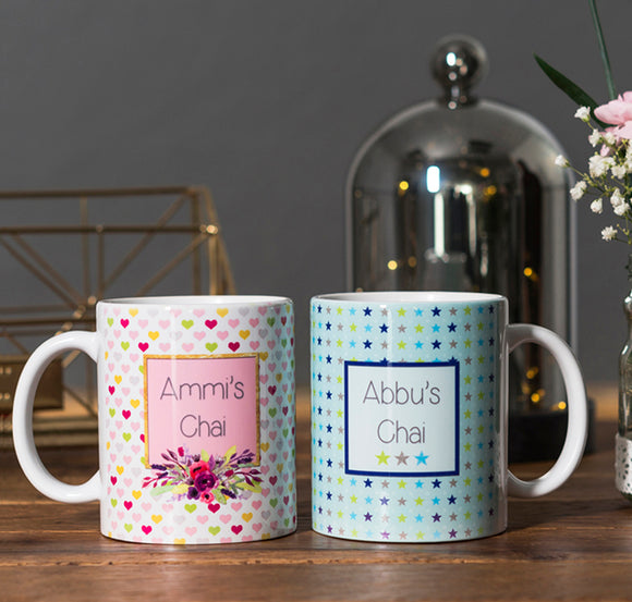 Printed Ceramic Mugs