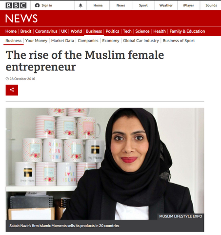 The rise of the Muslim Female Entrepreneur