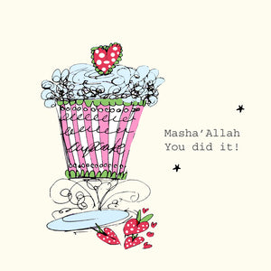 CD 16 - Masha'Allah You Did it... - Cup Cake - Islamic Moments