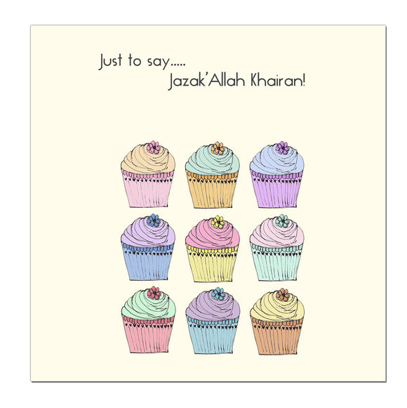 CD 18 - Just to say... Jazaka'Allah Khairan - Islamic Moments