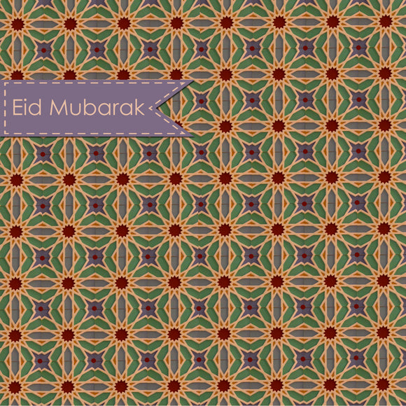 AN 04 - Eid Mubarak - Andalucia - Purple - Islamic Moments