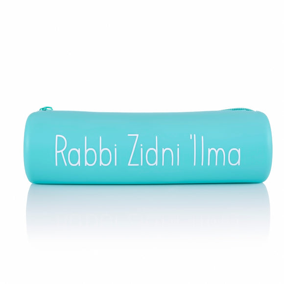PC 03 - Pencil Case - Aqua - Islamic Moments