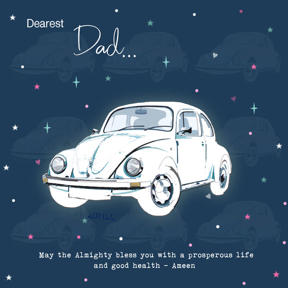 BJ 18 - Dearest Dad, May the Almighty bless you... - Islamic Moments