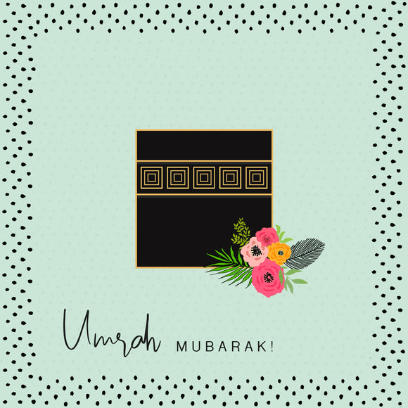 BJ 24 - Umrah Mubarak - Mint. - Islamic Moments