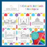 CIEC 02 - Colour in Eid cards - Mosque Set - Islamic Moments