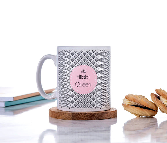Ceramic Mug - Hijabi Queen - Geometric - MG 31