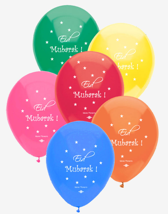 Eid Party Balloons by Islamic Moments