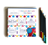 CIEC 02 - Colour in Eid cards - Mosque Set