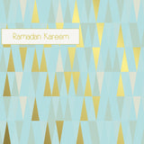 GD 02 - Ramadan Kareem - Gold Dust - Powder Blue - Islamic Moments