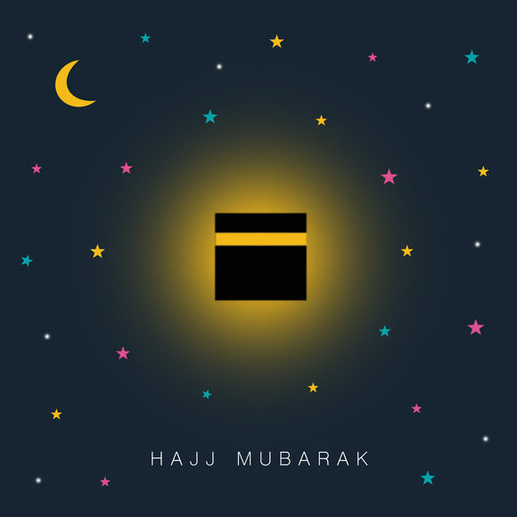 HJ 01 - Hajj Mubarak Midnight Kabba - Islamic Moments