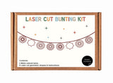 LCW 03 -  Laser Cut Hanging Ornaments Bunting Kit