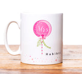 MGB 09 - Mr Habibi and Mrs Habibti  Mug Set - Balloons