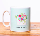 "Ceramic Mug ""Love & Du'as"" - MGB 04"